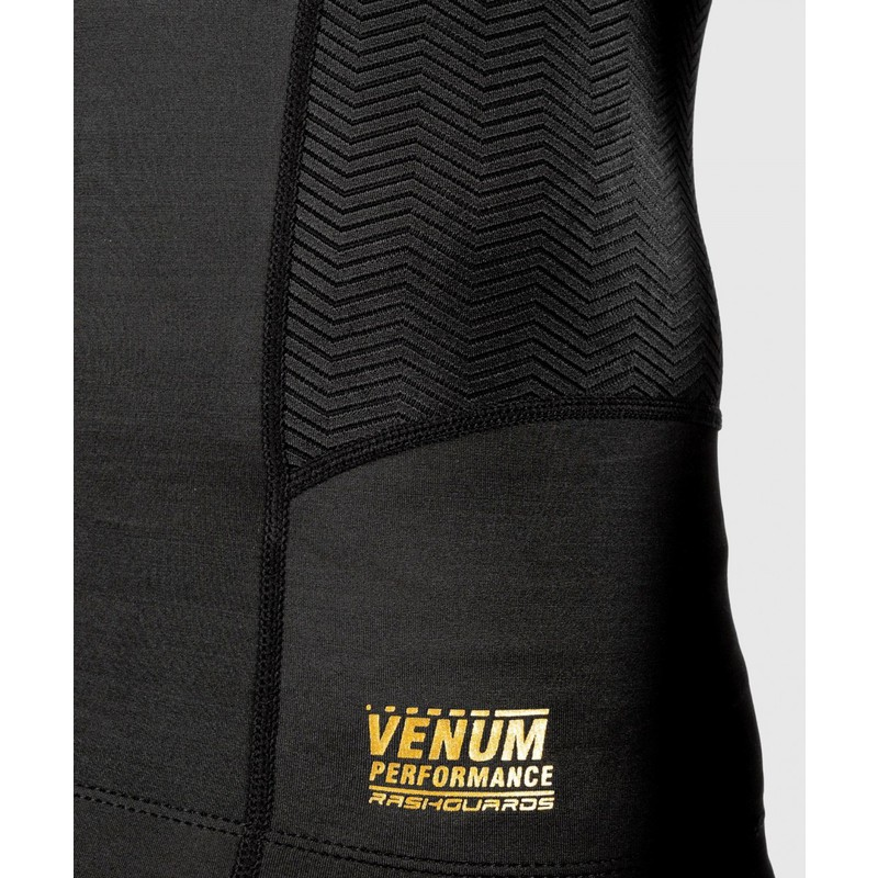 Venum G-Fit Rashguard - Long Sleeves - schwarz|gold