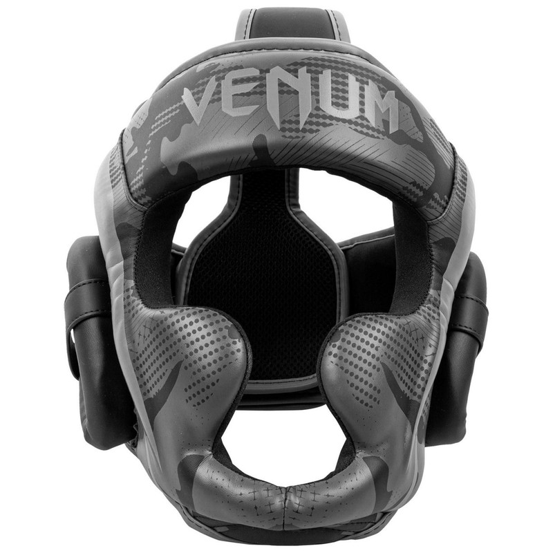 Venum Elite Headgear - Black-Dark Camo