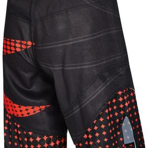 PX MMA Shorts schwarz-rot, Stretch 36c07f3a62