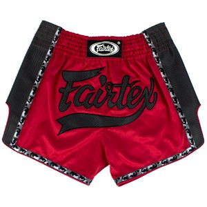 FAIRTEX Thai Shorts rot-schwarz BS1703