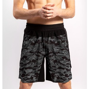Venum Defender Training Shorts dark camo