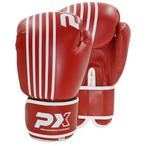 PX Boxhandschuhe SPARRING, PU rot-weiss